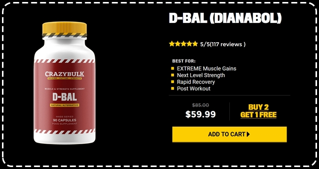 CrazyBulk D-Bal Review och Resultat: Best Dianabol Steroid Alternative
